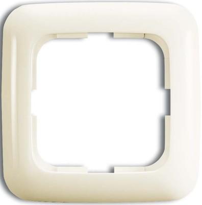 Busch-Jaeger Rahmen 1-fach weiß, senk.+ waage. 2511-212