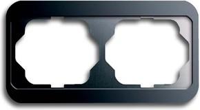 Busch-Jaeger Rahmen 2-fach platin, waager.alpha 1722-20