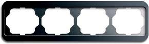 Busch-Jaeger Rahmen 4-fach platin, waager.alpha 1724-20