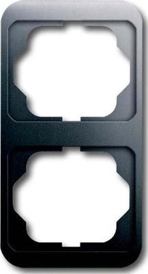 Busch-Jaeger Rahmen 2-fach platin, senkr.,alpha 1732-20