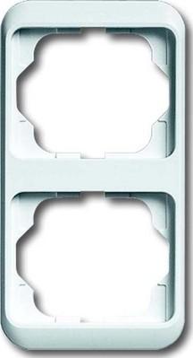Busch-Jaeger Rahmen 2-fach stws, senkr., alpha 1732-24