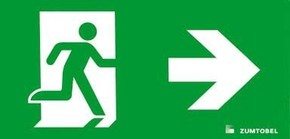Zumtobel Licht Rettungszeichen C EW rechts ARTSIGN #22166894