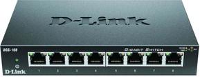 DLink Deutschland Gigabit Switch 8-Port Layer 2 DGS-108/E