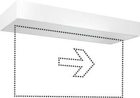 ESYLUX LED-Notleuchte weiß 3h, f.AP-/Deckenmon. SLX24LEDi EN10077371