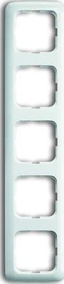 Busch-Jaeger Rahmen 5-fach alpinweiß senkr. u.waagerecht 2515-214