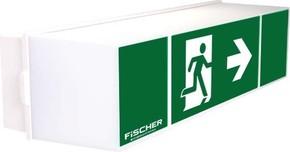 Fischer LED-Rettungszeichenleuchte Autotest IP54 E:16m ULU383AT2