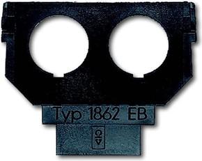 Busch-Jaeger Sockel für 1758... f. 2xDioden-EB-Bu. 1862 EB