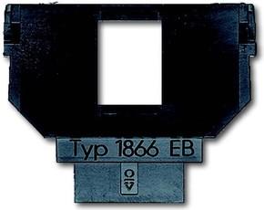 Busch-Jaeger Sockel für 1758... f. Mod.-Jack 6+8pol. 1866 EB
