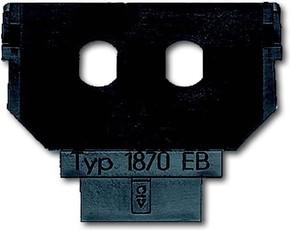 Busch-Jaeger Sockel für 1758... f. 2x Simplex ST 1870 EB