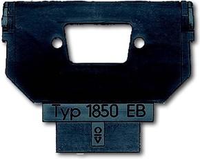 Busch-Jaeger Sockel für 1758... f. SUB-D 9polig 1850 EB