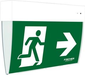 Fischer LED-Rettungszeichenleuchte Autotest IP54 E:27m F1U383AT2