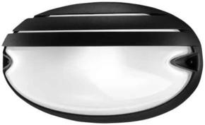 Spittler Wandleuchte E27 60W schwarz GRILL CHIP OVALE 25 #5707