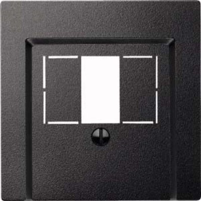 Merten Zentralplatte anthrazit für TAE-Dose 297914
