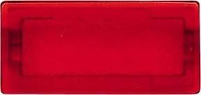 Merten Symbol neutral rt/tra rechteckig 395900