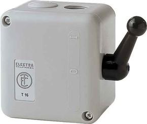 Elektra Tailfingen Sterndreieckschalter isogekapselt, IP52 TYT 16