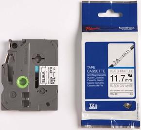 Brother Schrumpfschlauchkassette 11,7mm BL 1,5m weiß/sw HSe-231