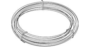 HKL Runddraht mit PVC-Mantel 1318/10