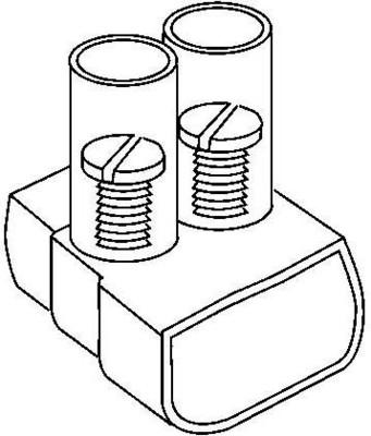 HKL Verbindungsklemme 10qmm, 10-polig B100