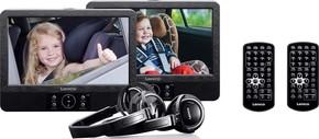 Lenco DVD-Player Dual-Set portable DVP-939