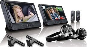 Lenco DVD-Player Set portable DVP-1045