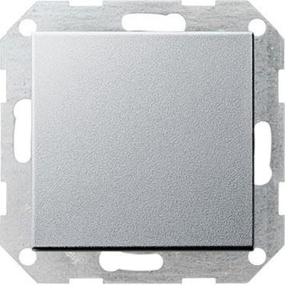 Gira Tast-Wechselschalter aluminium System55 012626