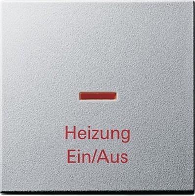 Gira Wippe Heiz-Not-Sch. aluminium 067826
