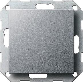 Gira Blindabdeckung aluminium System55 026826