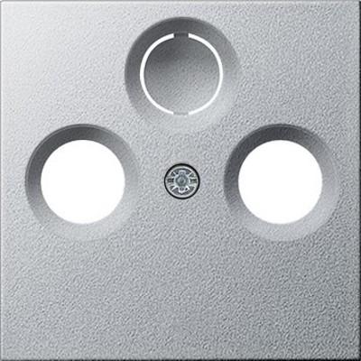 Gira Zentralplatte Antenne aluminium System55 086926
