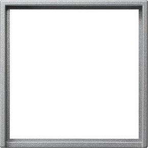 Gira Adapterrahmen aluminium quadr. 50x50mm S.55 028226