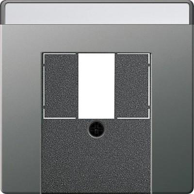 Gira Zentralplatte TAE Edelstahl 027620