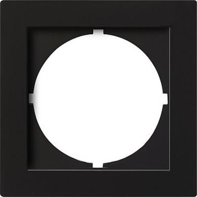 Gira Zwischenplatte (rund) schwarz S-Color 028147