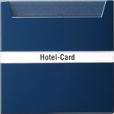 Gira Hotel-Card-Taster bl S-Color 014046