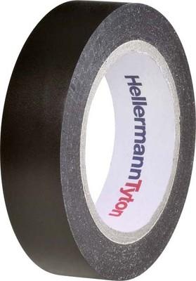 HellermannTyton PVC Isolierband schwarz Flex 15-BK15x10m