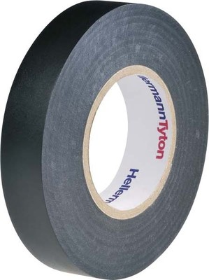HellermannTyton PVC Isolierband schwarz Flex 15-BK15x25m