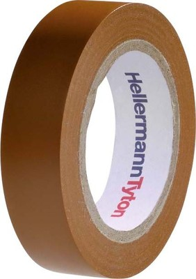 HellermannTyton PVC Isolierband braun Flex 15-BR15x10m
