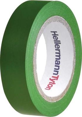 HellermannTyton PVC Isolierband grün Flex 15-GN15x10m