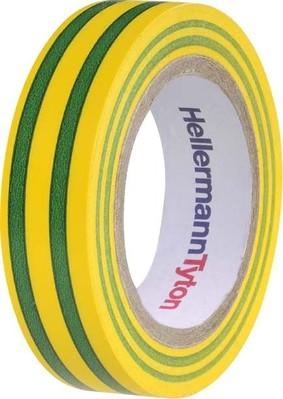 HellermannTyton PVC Isolierband grün-gelb Flex 15GNYE15x10m