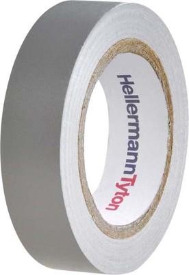 HellermannTyton PVC Isolierband grau Flex 15-GY15x10m