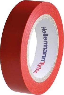 HellermannTyton PVC Isolierband rot Flex 15-RD15x10m
