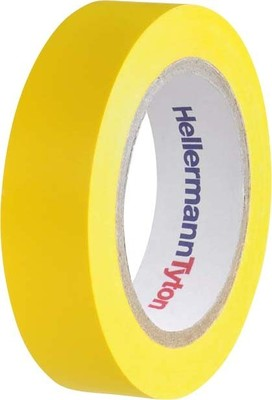 HellermannTyton PVC Isolierband gelb Flex 15-YE15x10m