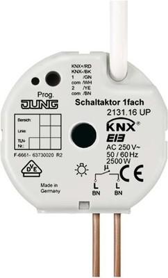 Jung KNX Schaltaktor 1-fach UP 16A 2131.16 UP