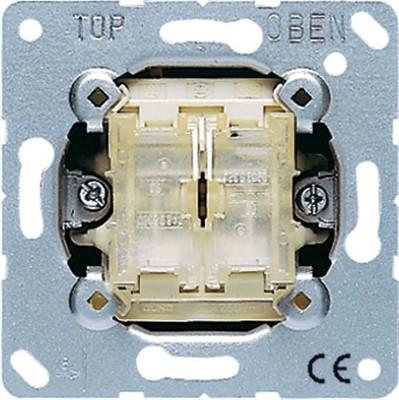 Jung Tastschalter 10AX 250V Doppel Wechsel 509 TU