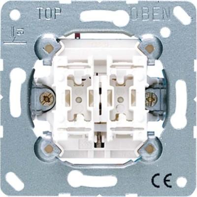 Jung Jalousie-Wippschalter 250V 10AX Taster 1-polig 539 VU