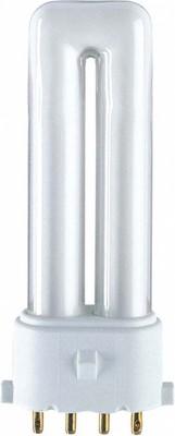 Osram LAMPE Kompaktleuchtstofflampe DULUX S/E 7W/830