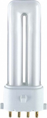 Osram LAMPE Kompaktleuchtstofflampe DULUX S/E 9W/827