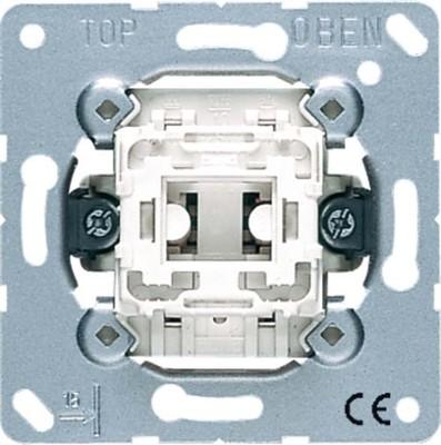 Jung Taster 10AX 250V 2-pol. Wechsler 533-2 U