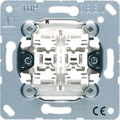 Jung Doppel-Taster 10AX 250V 2 Schließer 535 U