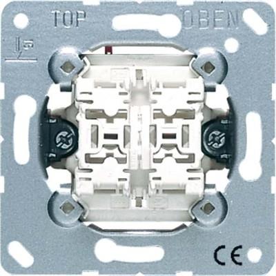 Jung Doppel-Taster 10AX 250V 2 Wechsler 539 U