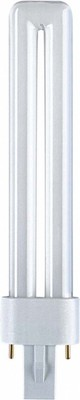 Osram LAMPE Kompaktleuchtstofflampe DULUX S 5W/827