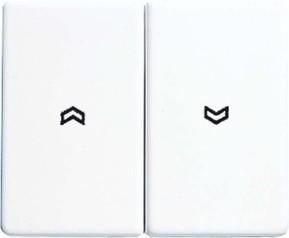 Jung Wippe Symbole alpinweiß für Taster SL 595 P WW